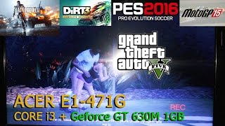 review gaming acer e1 471g i3 geforce gt630m 1gb