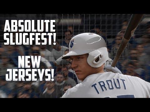ABSOLUTE SLUGFEST! New Uniforms! MLB The Show 17 Diamond Dynasty Gameplay  [#AskMovie Part 3]]