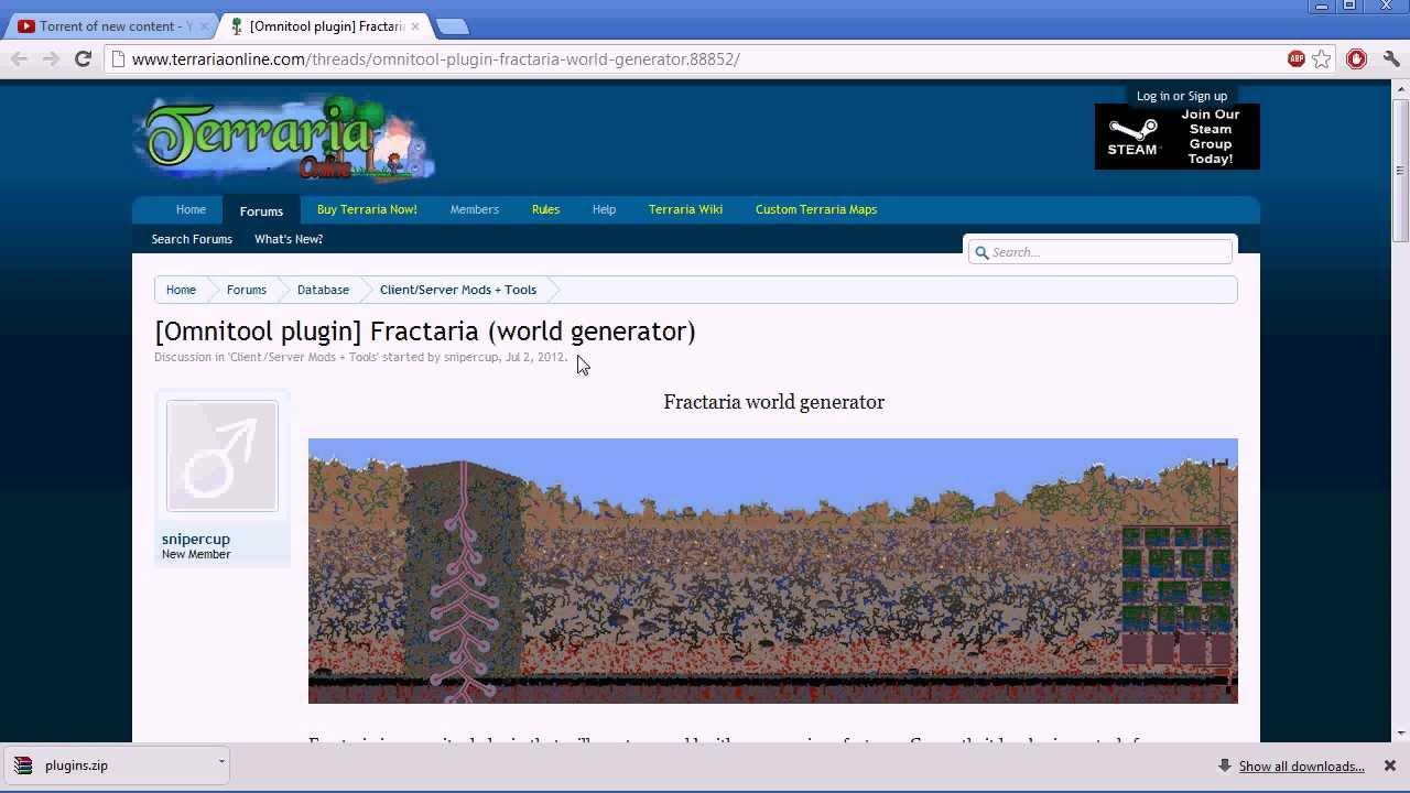 Fractaria terraria world generator find download install use fractaria terraria world generator find download install use gumiabroncs Images