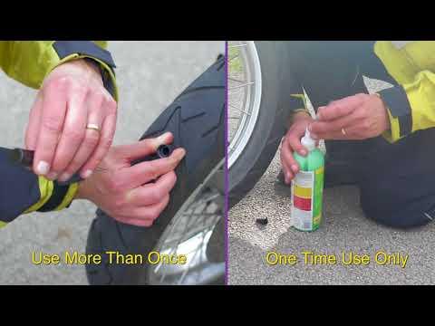 Stop & Go - Pocket Tire Plugger VS Slime (Tubeless Tires Only)