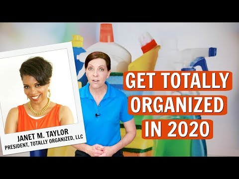 Get Totally Organized With Organizer Janet M. Taylor
