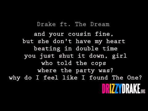 Drake ft The Dream  Shut it down Lyrics