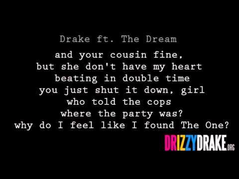 Drake ft. The Dream - Shut it down Lyrics [VIDEO]