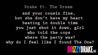 Drake ft. The Dream - Shut it down Lyrics [VIDEO]