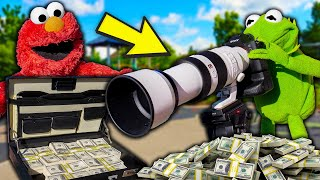 Kermit The Frog and Elmo Buy a NEW $15,000 Camera! (10k Resolution)