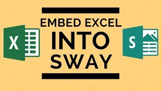 Microsoft Sway - Embed a Live Excel Spreadsheet