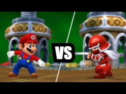 Mario Sports Mix (Wii U) - Volleyball - Star Cup (Hard)