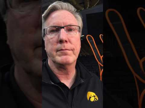 Iowa coach Fran McCaffery pre NIT matchup with South Dakota
