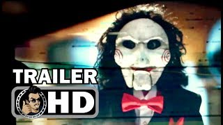 JIGSAW: SAW 8 Official Trailer #1 (2017) Laura Vandervoort Horror Movie HD