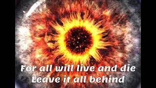 Breaking Benjamin-Close your eyes lyrics