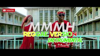 """Willy paul ft Rayvanny """"MMMH"""" OFFICIAL INSTRUMENTAL (Reggae version)"""