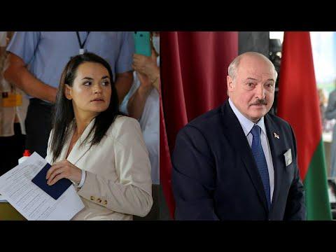 Как голосовали Тихановская