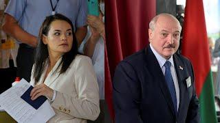 Как голосовали Тихановская и Лукашенко. Видео без комментариев