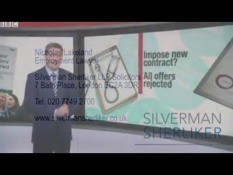 Employment Solicitor Nicholas Lakeland discusses Junior Doctors BBC News