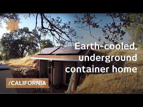 earth-cooled, shipping container underground ca home for 30k - youtube