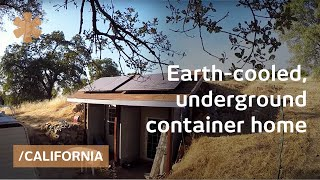 Earth-cooled, shipping container underground CA home for 30K thumbnail