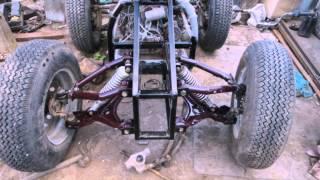 Квадроцикл из металлолома