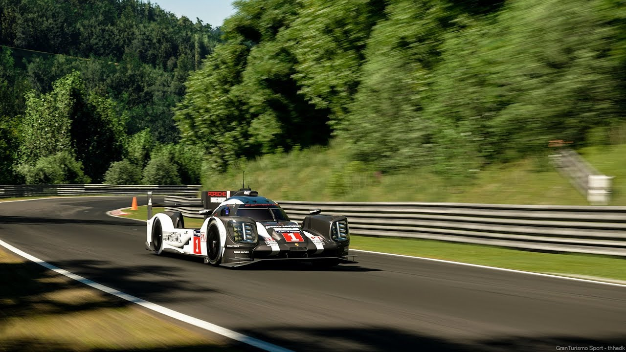 Porsche 919 Hybrid On Nürburgring New Fastest Time