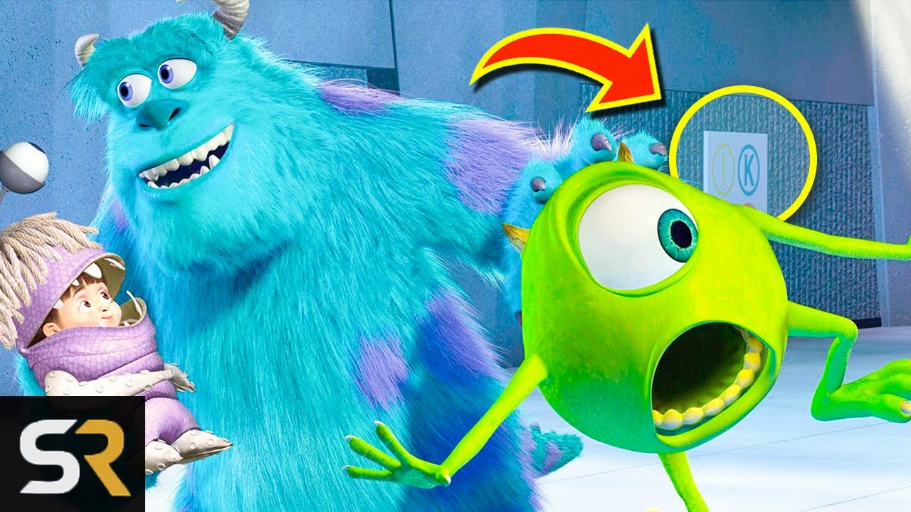 15 Monsters Inc Details You Never Noticed
