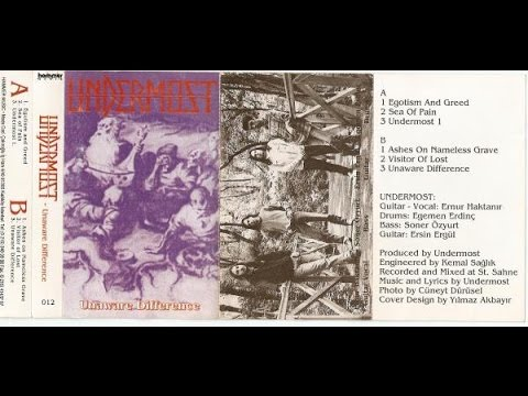 Undermost -  Unaware Difference (1994)
