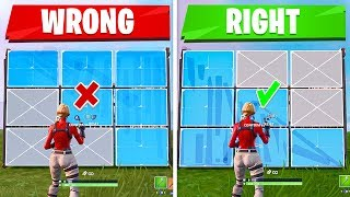 4 IMPORTANT Editing Tips You NEED TO Know! (Fortnite How To Edit Faster - Tips & Tricks)