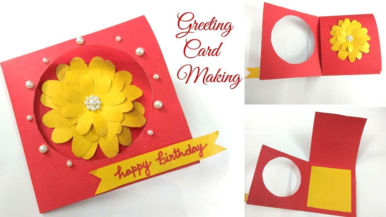Birthday Card makingHappy Birthday Card Birthday Gift in lockdown/ How to  make birthday card