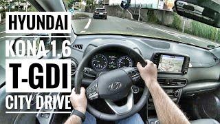 Hyundai Kona 1.6 T-GDI (2019) - POV City Drive