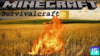 HOW LUCKY CAN I BE?? - LUCKY BLOCK SURVIVALCRAFT - EPISODE 15 (1.8.9 MODDED SURVIVAL)