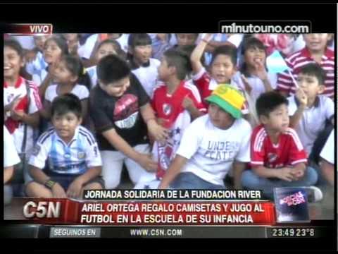 C5N - SOCIEDAD: JORNADA SOLIDARIA DE LA FUNDACION RIVER