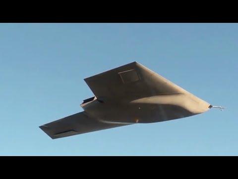 Taranis Unmanned Combat Aircraft- Maiden Flight | RAF 100