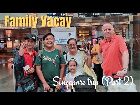 FAMILY TRIP To SG  (part 2)//VLOG#11// Laarni B N'style
