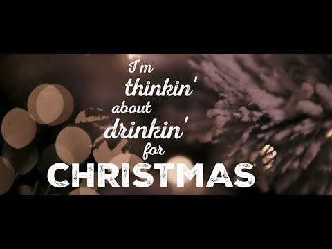 "Kristian Bush: ""Thinking About Drinking For Christmas"" [Official Lyric Video]"