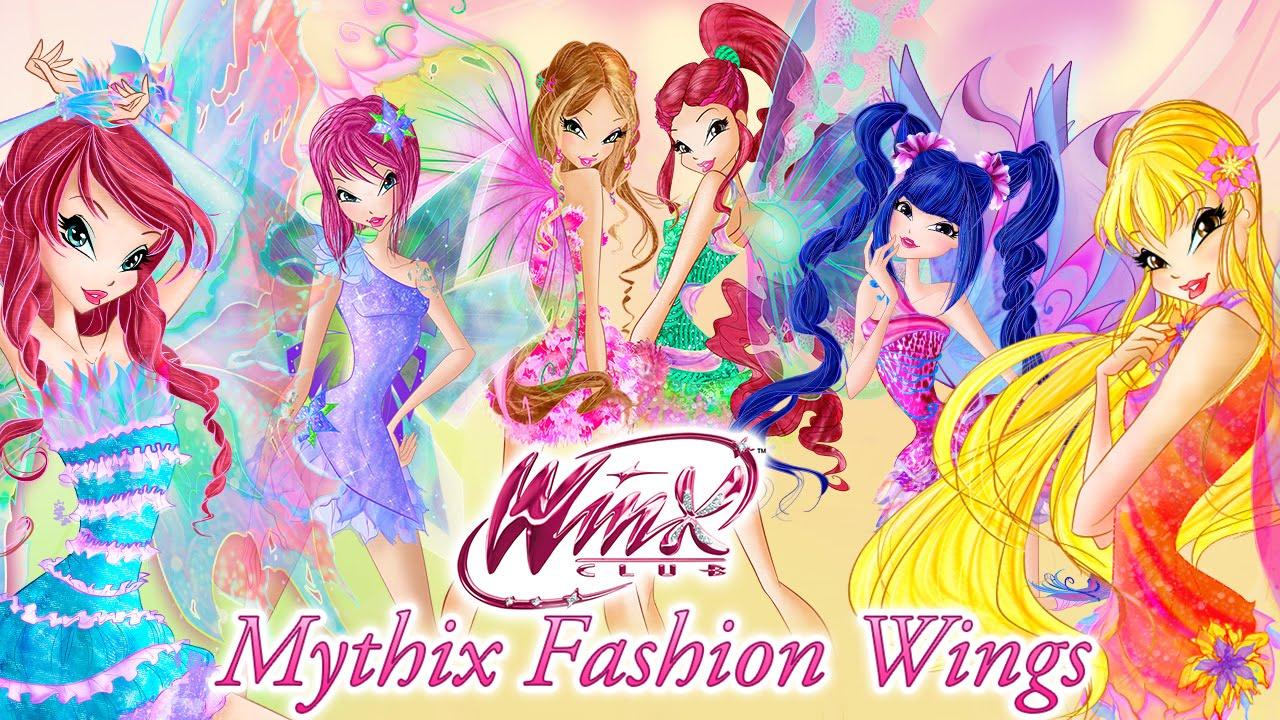 Winx Club Mythix Fashion Wings!  Musa