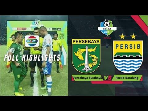 Persebaya (3) vs Persib (4) - Full Highlight | Go-Jek Liga 1 Bersama Bukalapak