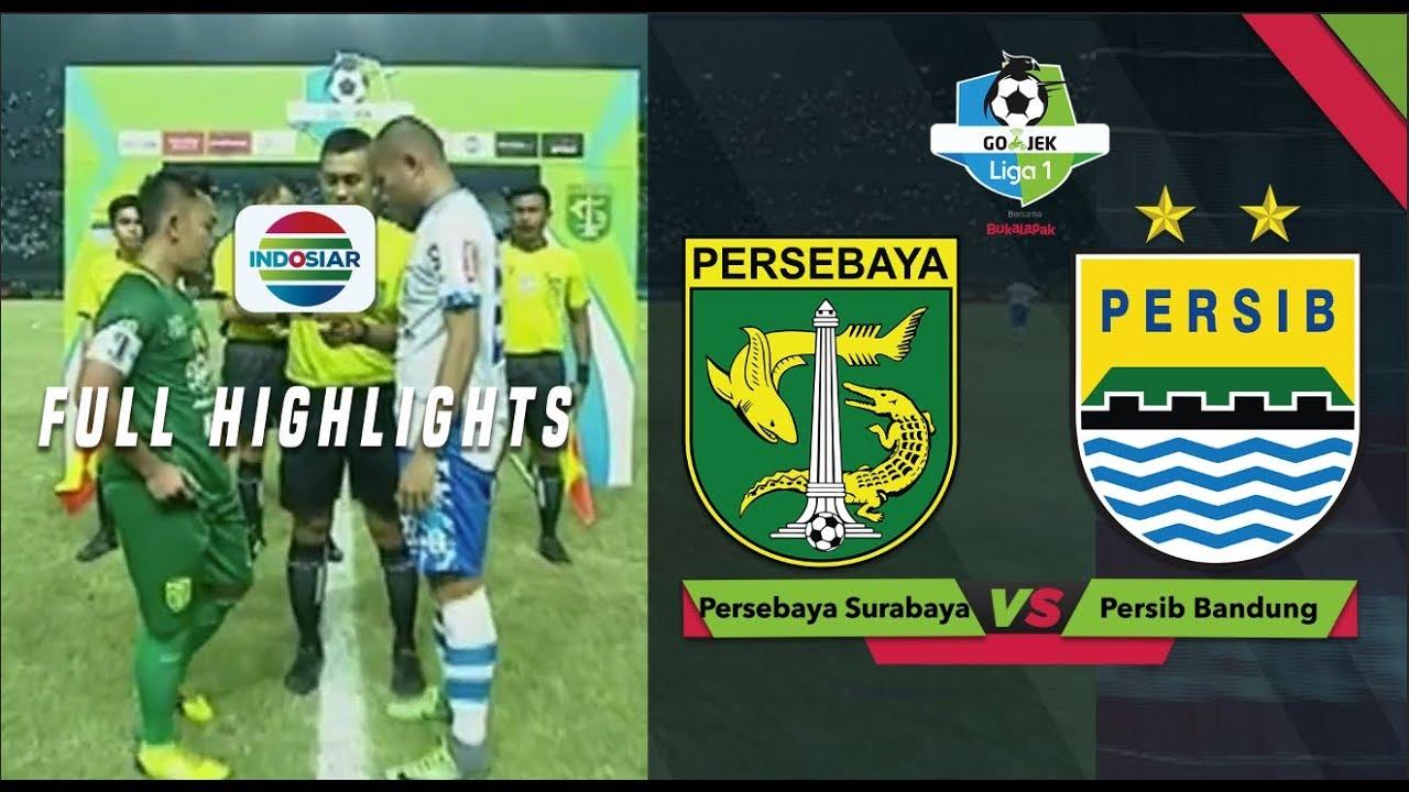 Persebaya  Vs Persib  Full Highlight Go Jek Liga  Bersama Bukalapak