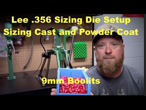 Sizing Cast and Powder Coat 9mm with the Lee .356 Sizing Die