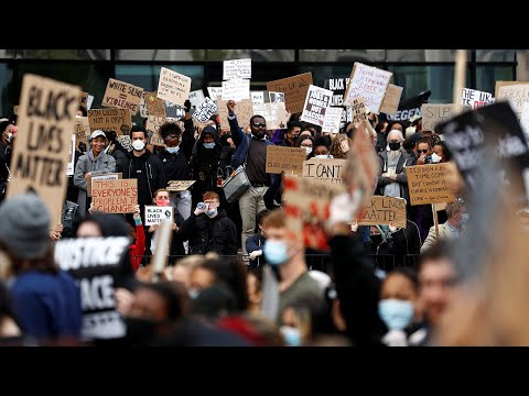 Thousands turn out for Black Lives Matter demonstration, From YouTubeVideos