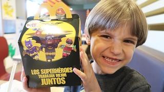 McDonalds Kids Happy Meal Toys LEGO Batman Movie Toys Family Fun for Kids Princess Toys