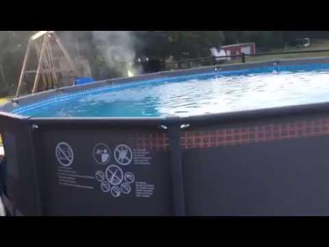 Intex 14 X 42 Above Ground Pool Youtube