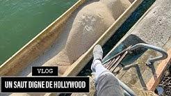 JE RÉALISE UNE CASCADE DE FILM HOLLYWOODIEN EN VRAI - VLOG