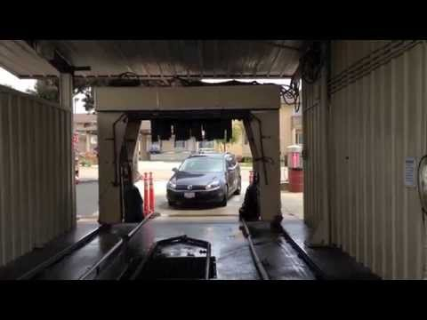 Car Wash Machine >> **RARE** Slant Tunnel-on-Wheels @ Morro Bay Car Wash - YouTube