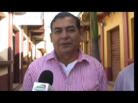 Cadidato a alcalde por el partido le liberal Doctor Roberto Antonio Leyba anucia visita del presiden
