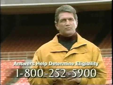 2001 - Joe Theismann Commercial.