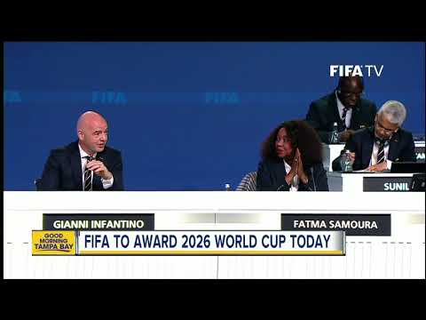 FIFA members prepare to elect 2026 World Cup host