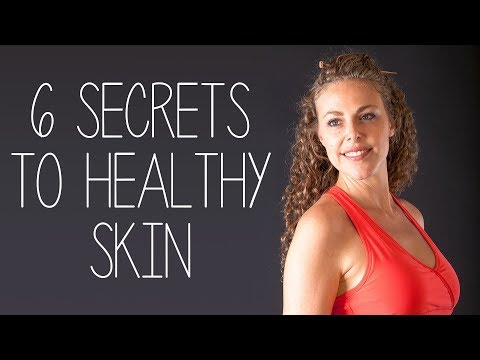 6 Simple Secrets for Healthy, Glowing Skin   Anti-Aging Natural Skin Care Tips, Beauty, Make Up