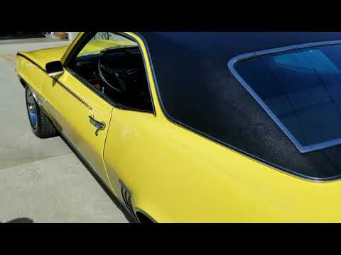 1969 RS SS Camaro for sale Los Angeles Craigslist