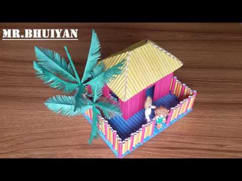 Paper House|| Make a Beautiful Paper House easily|| Beautiful Origami House||