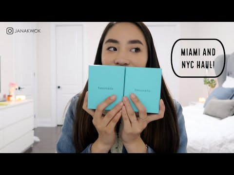 Haul ft. My first Tiffany & Co., Tory Burch, Coach & makeup! | 2019