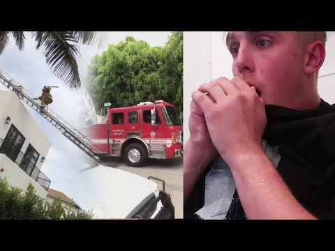 Jake Paul SWATTED AGAIN! SSSniperWolf vs Alissa Violet & FaZe Banks