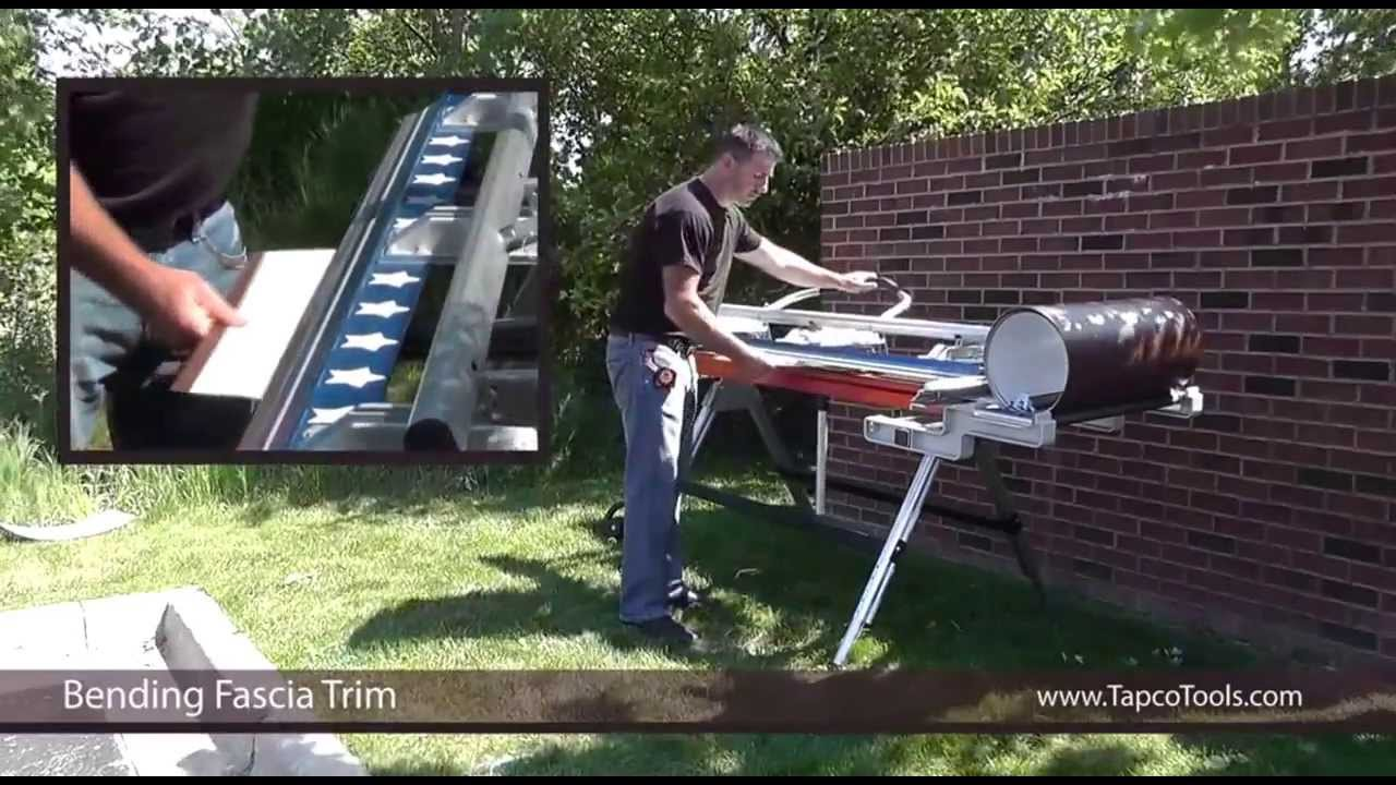 How To Bend A Fascia Trim Youtube
